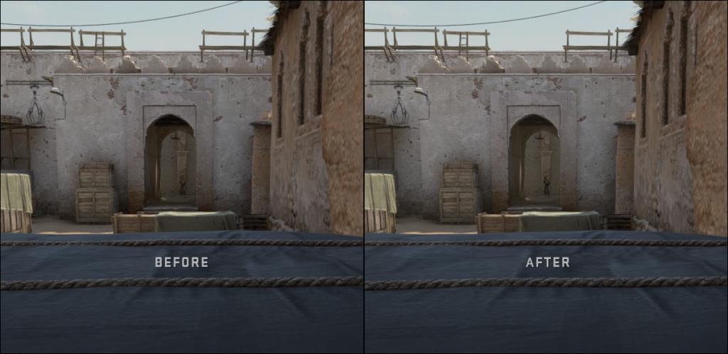 zmiany na dust2