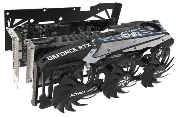 Inno3D GeForce RTX 3070 Ti iChill X4