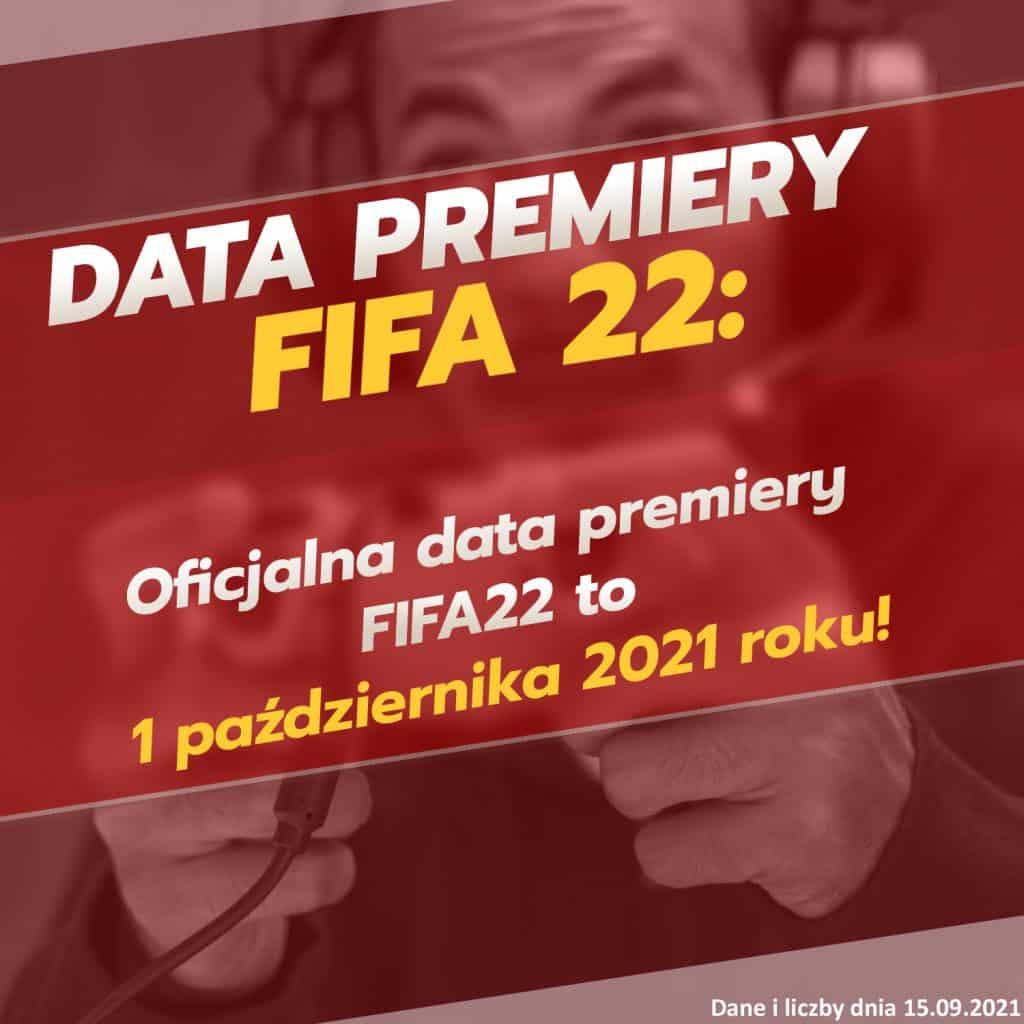 Oficjalna data premiery FIFA 22 to 1 października 2021 roku!